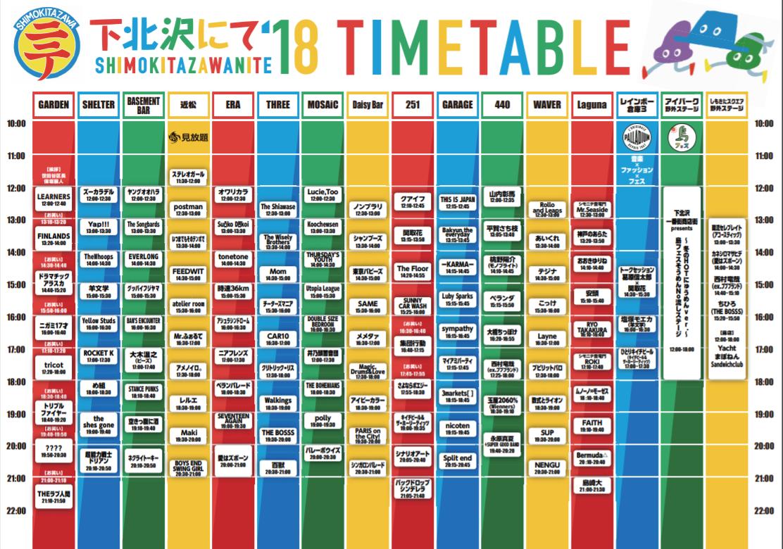 『下北沢にて 2018』