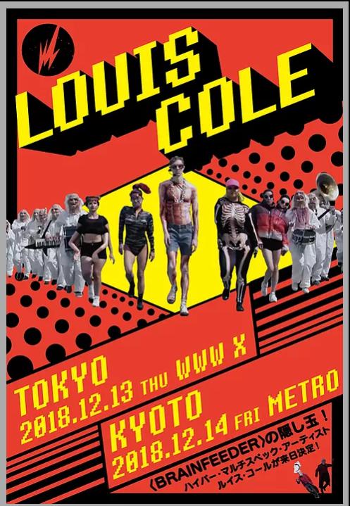 LOUIS COLE Japan Tour 2018