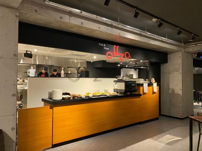 Cafe&Diner Offzaの内観写真